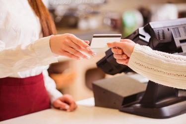Technisch funktionale Kundenbindung Kundenkarte an der Kasse