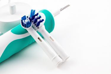 Technisch funktionale Kundenbindung elektrische Zahnbürste mit Aufsteckbürste